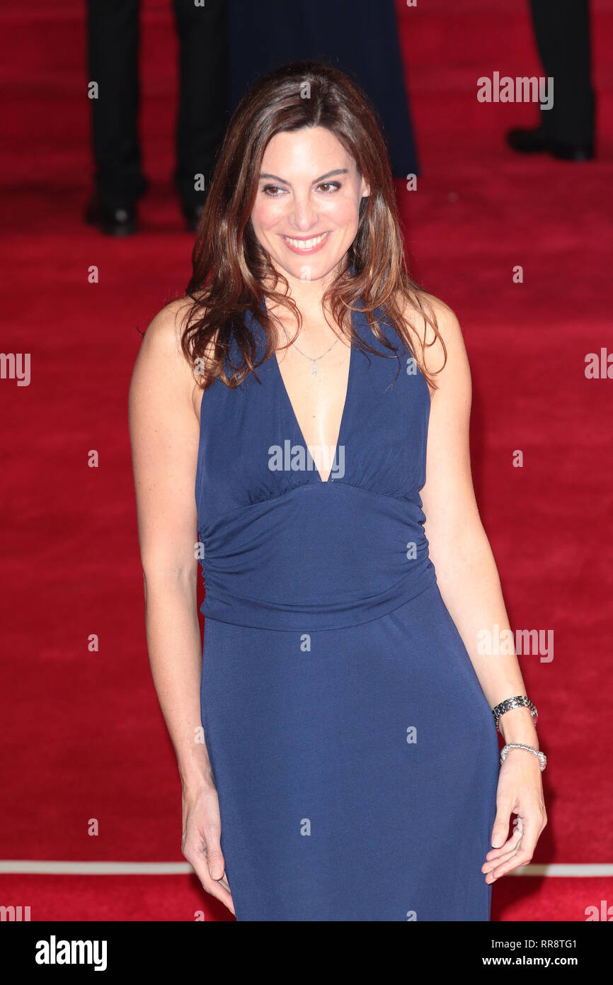 Oct 26, 2015 - London, England, UK -  James Bond Spectre World Premiere held at Royal Albert Hall:- Photo Shows:  Guest - Stock Image