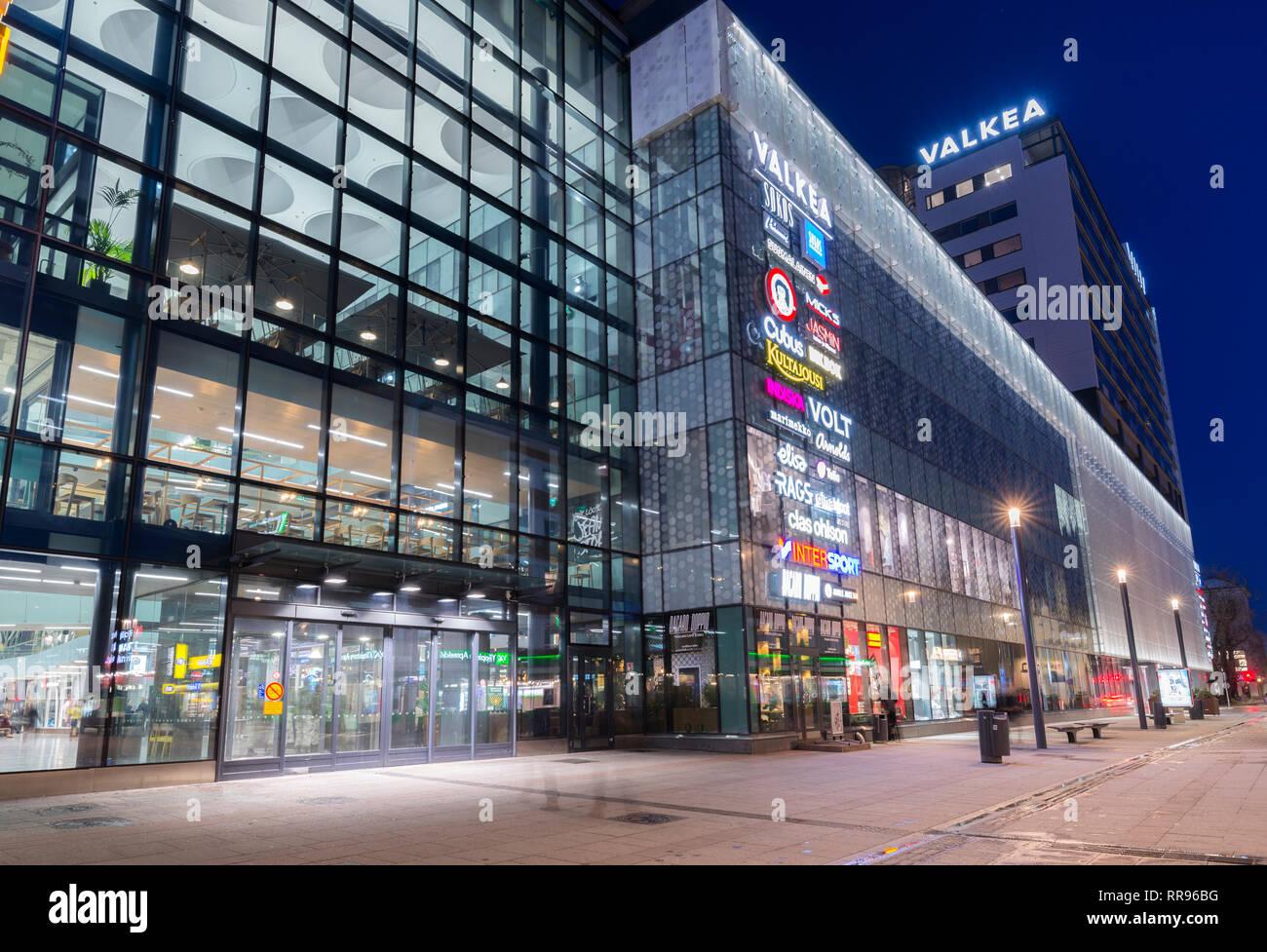 Valkea Shopping Centre in Oulu, Finland Stock Photo