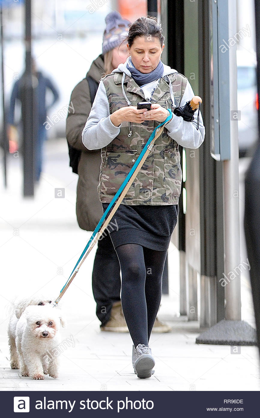 9583cc832729f **USA ONLY** London, UK - Actress Sadie Frost steps out to walk her dogs in  London today, and was all smiles during her stroll.