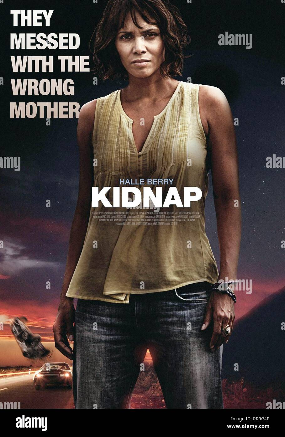 KIDNAP, HALLE BERRY POSTER, 2017 - Stock Image