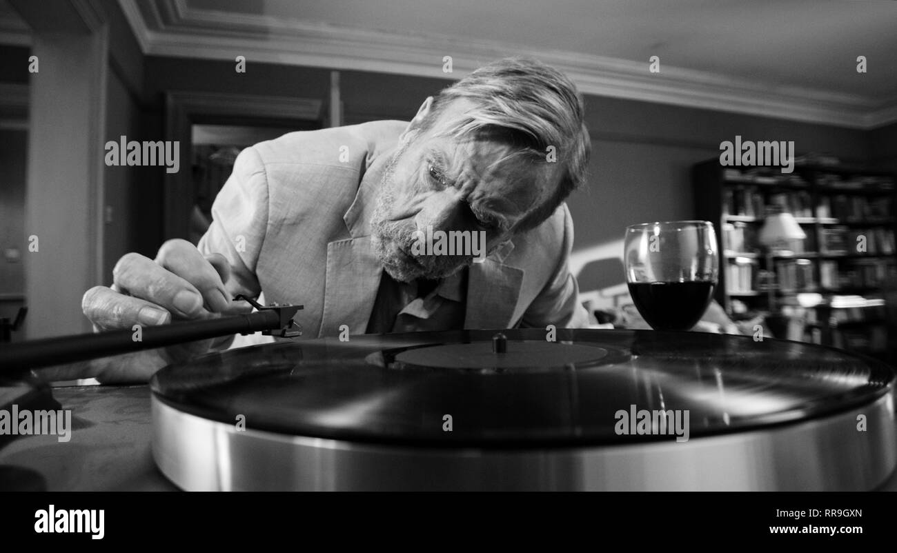 THE PARTY, TIMOTHY SPALL, 2017 - Stock Image