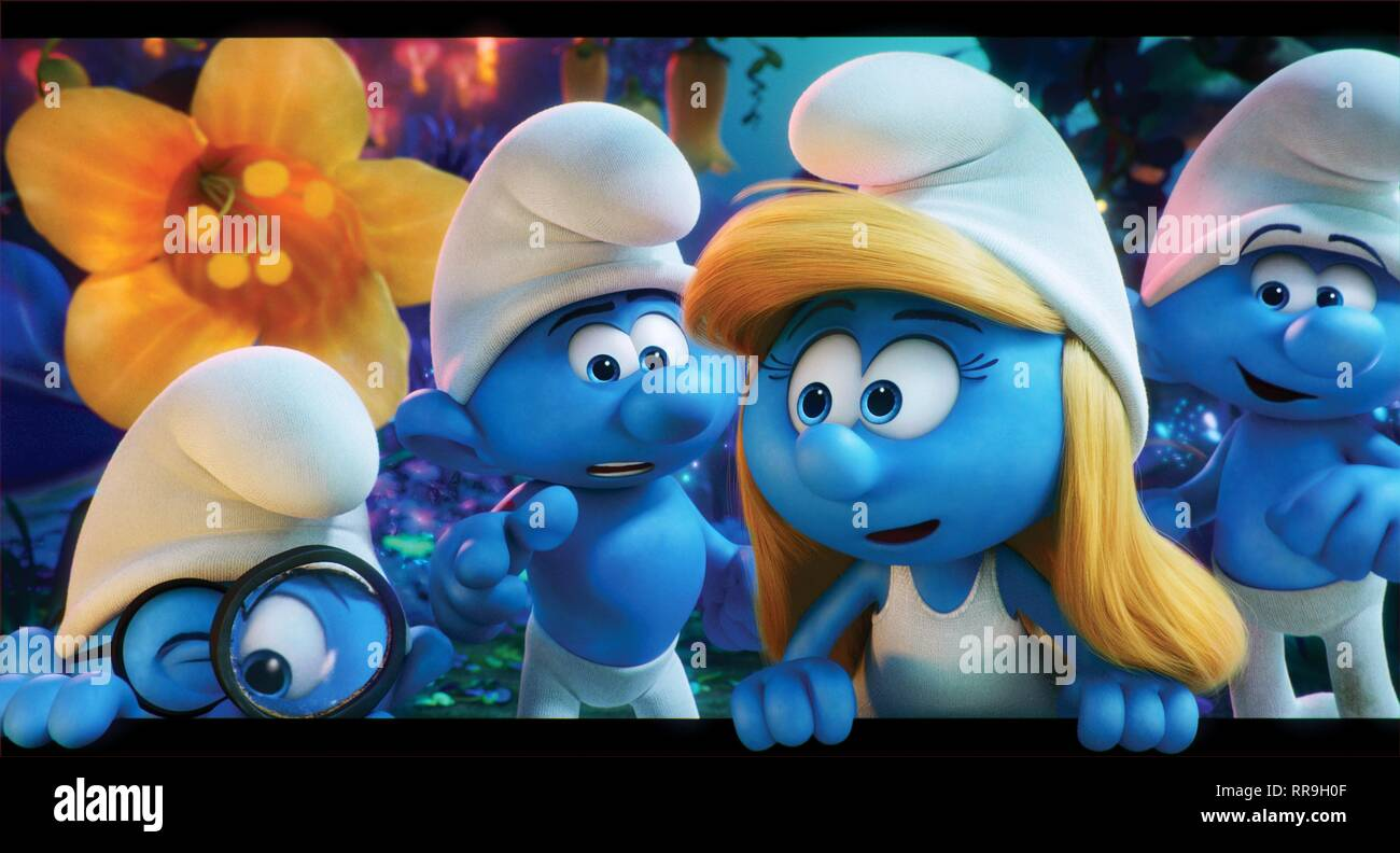Smurfette stock photos smurfette stock images alamy - Hefty smurf the lost village ...
