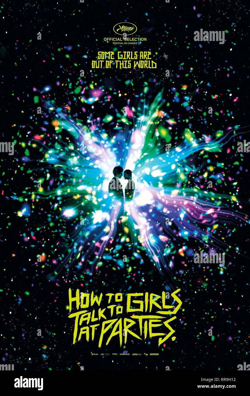 HOW TO TALK TO GIRLS AT PARTIES, MOVIE POSTER, 2017 - Stock Image