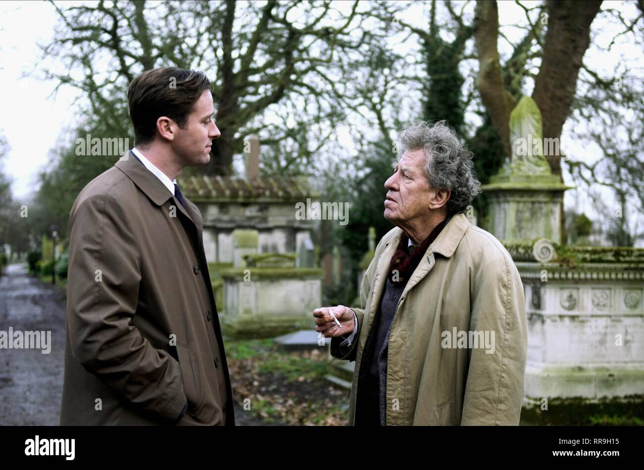 FINAL PORTRAIT, ARMIE HAMMER , GEOFFREY RUSH, 2017 - Stock Image