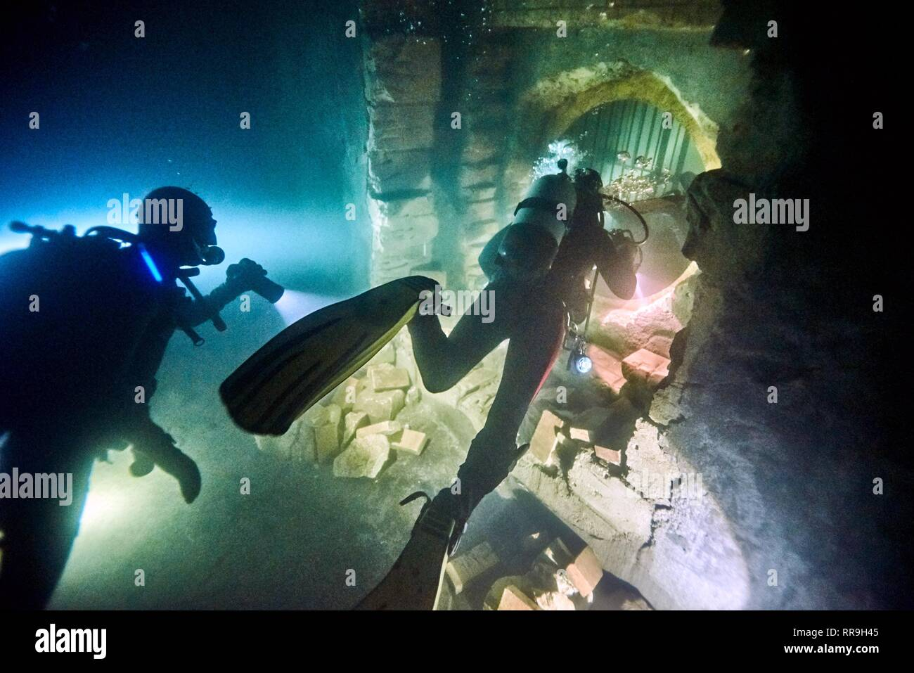 RENEGADES, DIVERS, 2017 - Stock Image