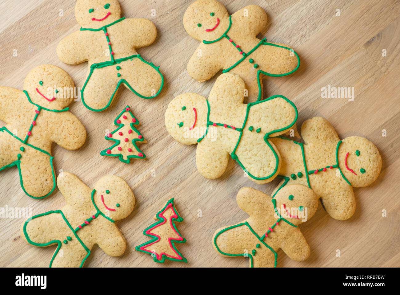 Gingerbread And Christmas Cookies Set Of Seasonal Christmas