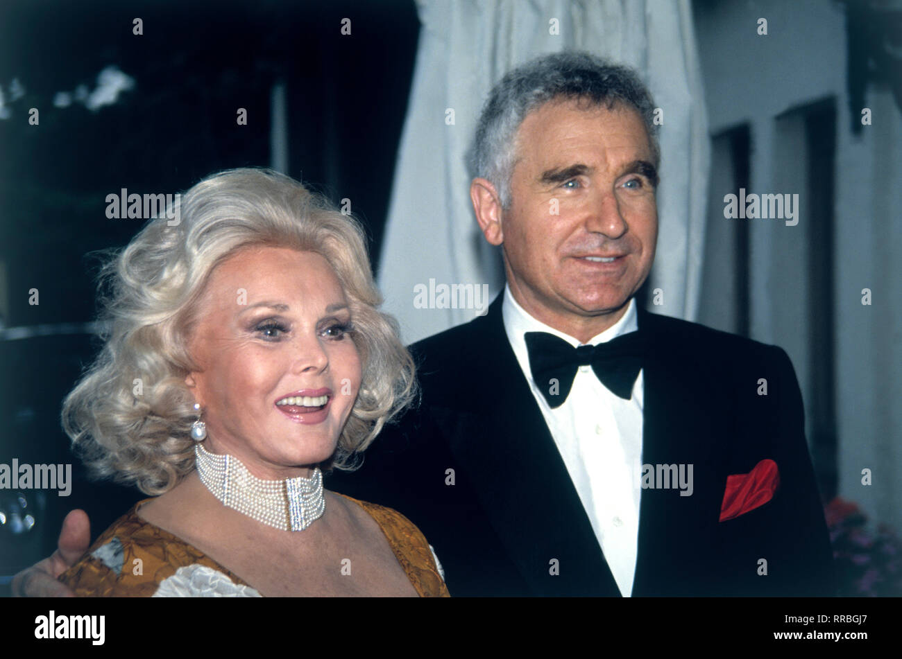 Zsa Zsa Gabor High Resolution Stock Photography And Images Alamy
