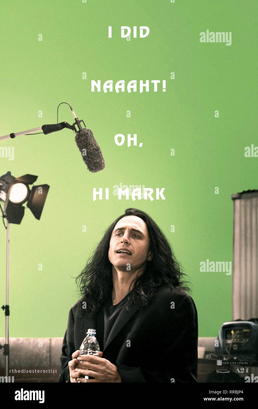 THE DISASTER ARTIST, JAMES FRANCO POSTER, 2017 - Stock Image