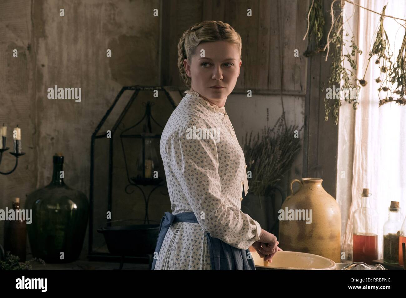 THE BEGUILED, KIRSTEN DUNST, 2017 - Stock Image