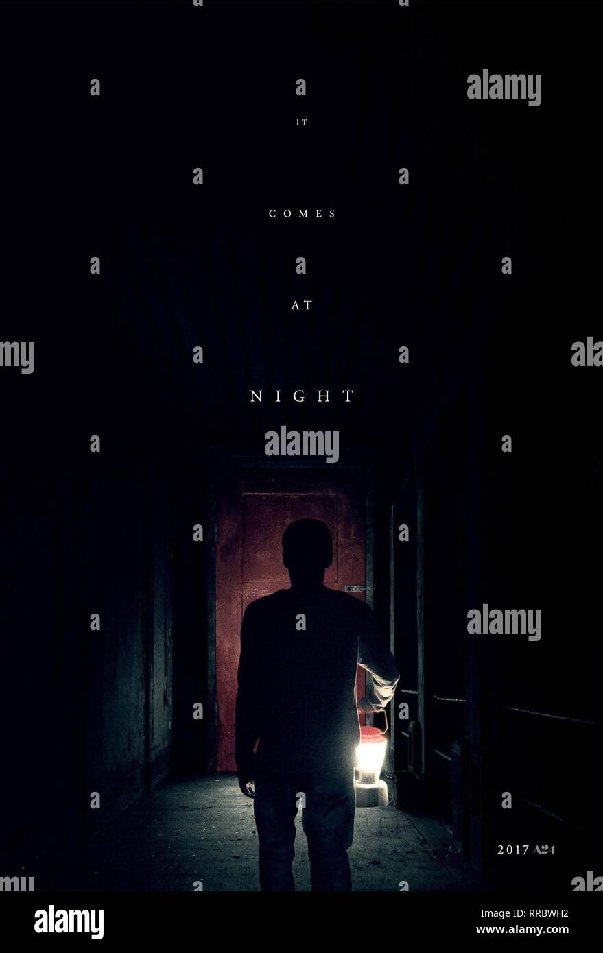 IT COMES AT NIGHT, MOVIE POSTER, 2017 - Stock Image