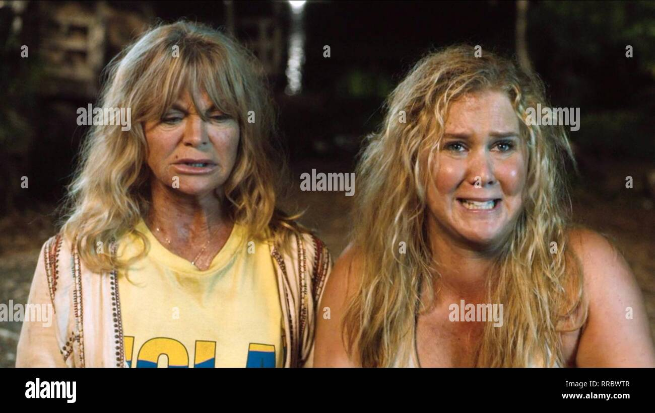 SNATCHED, GOLDIE HAWN , AMY SCHUMER, 2017 - Stock Image