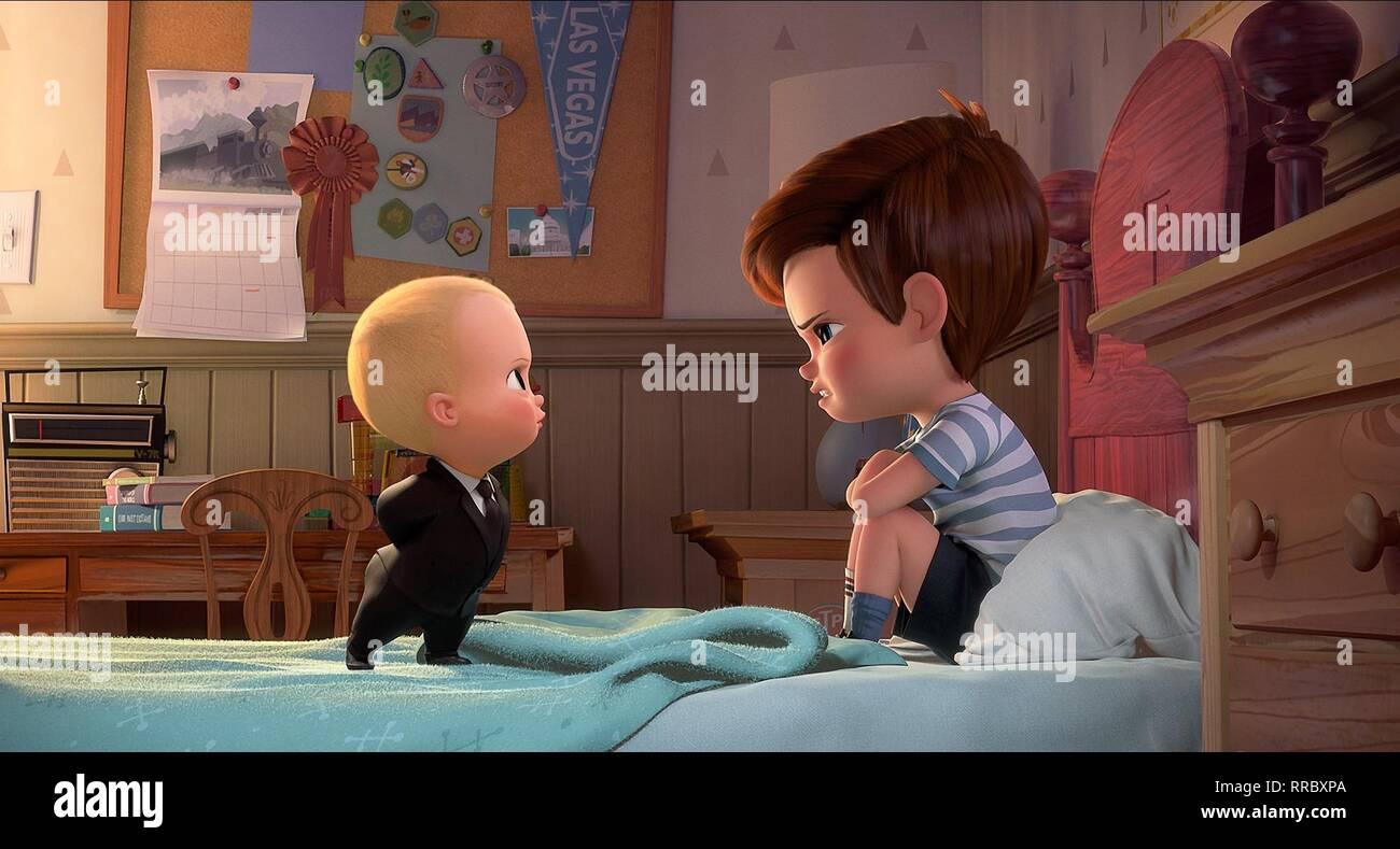 THE BOSS BABY, BABY , TIM, 2017 - Stock Image