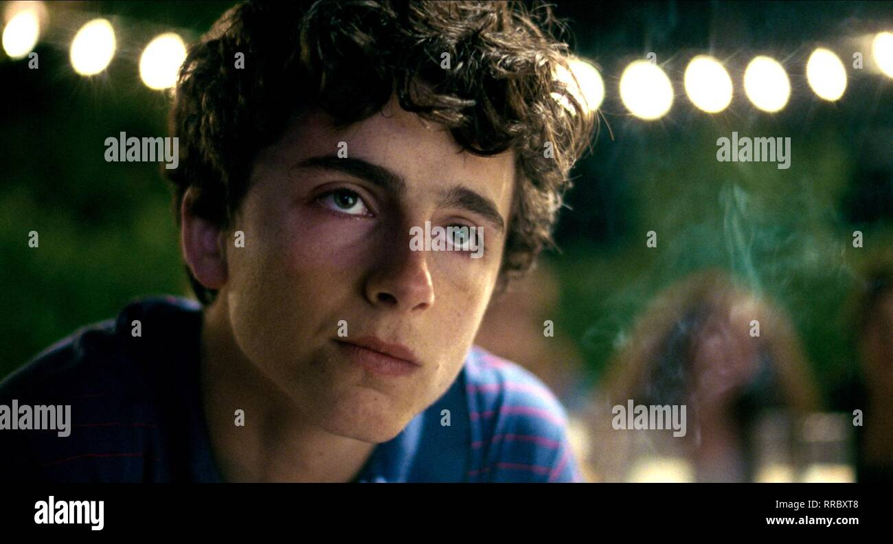 CALL ME BY YOUR NAME, TIMOTHEE CHALAMET, 2017 - Stock Image