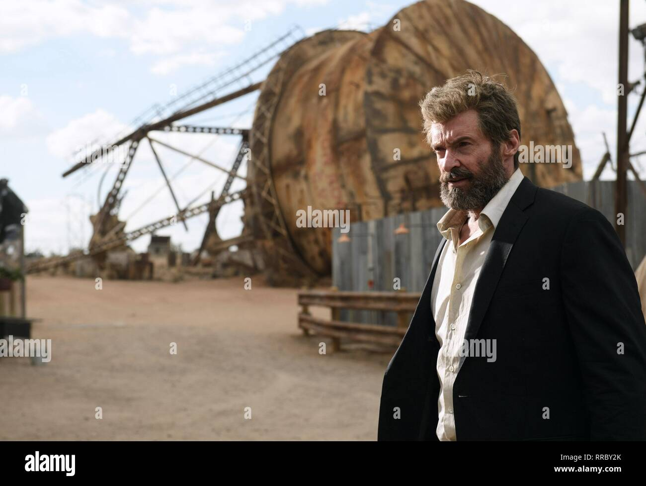 LOGAN, HUGH JACKMAN, 2017 Stock Photo