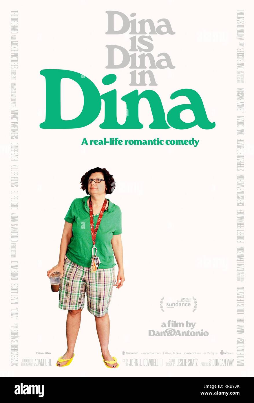 DINA, DINA BUNO POSTER, 2017 - Stock Image
