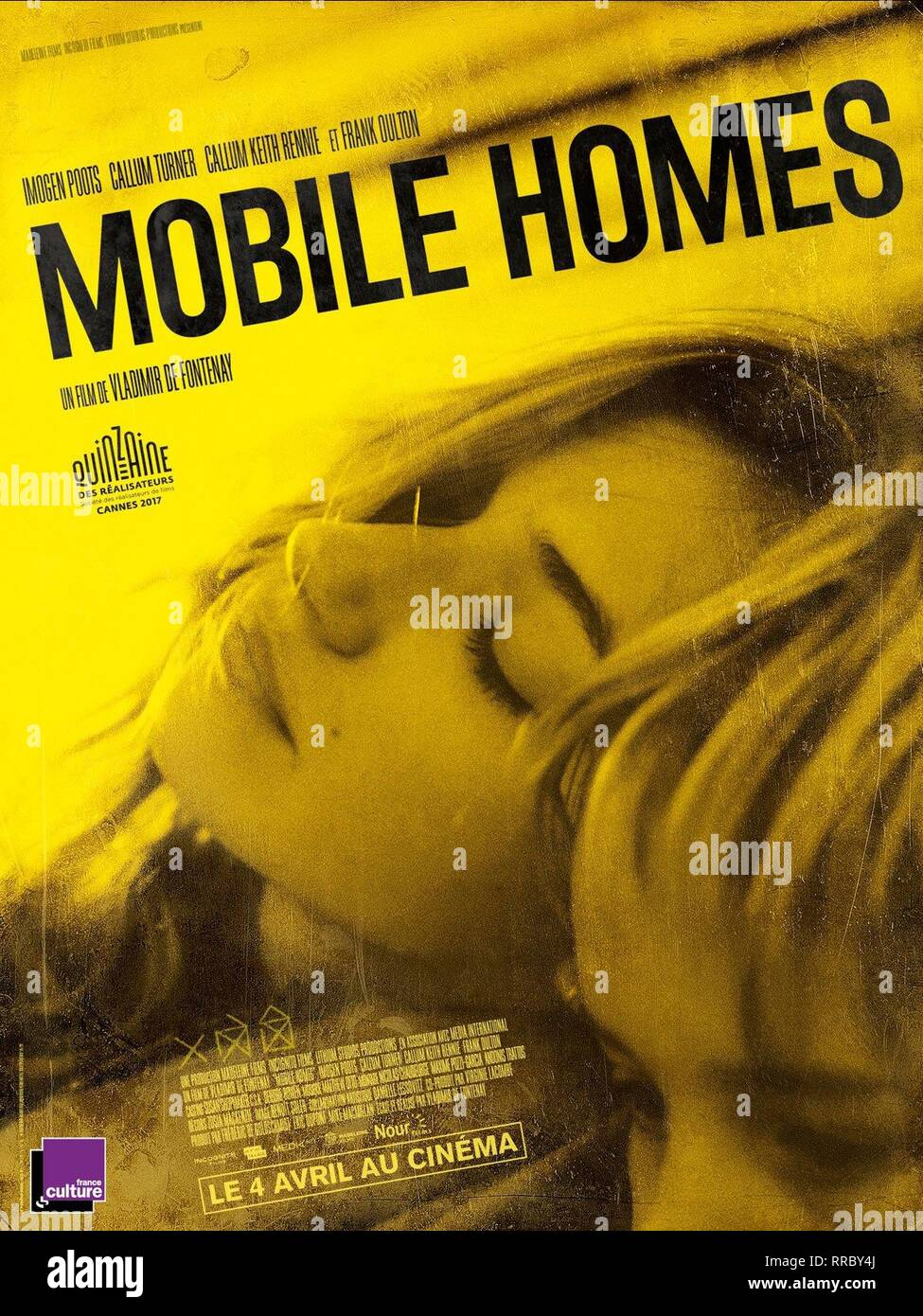 MOBILE HOMES, IMOGEN POOTS POSTER, 2017 - Stock Image