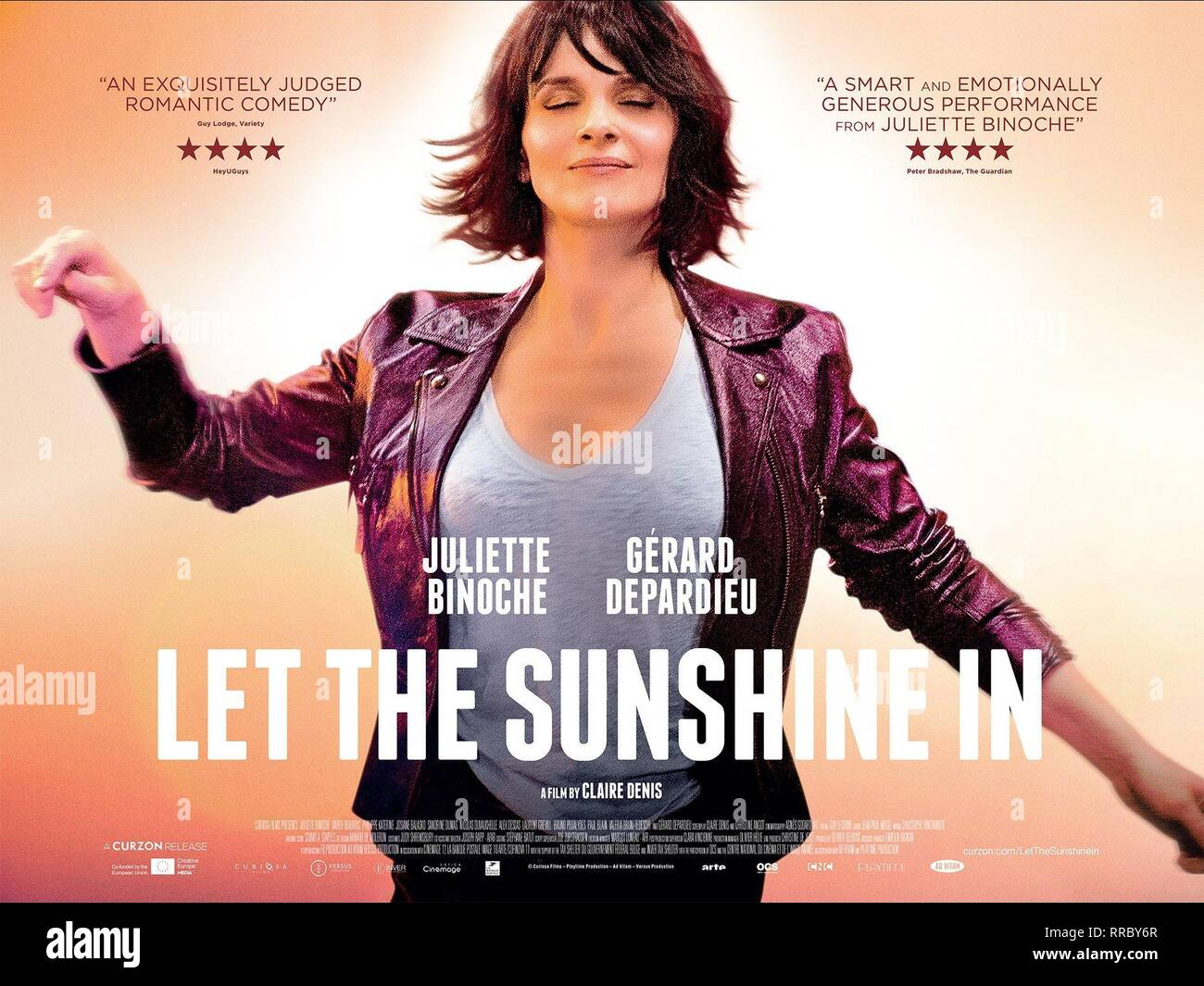 LET THE SUN SHINE IN, JULIETTE BINOCHE, 2017 - Stock Image
