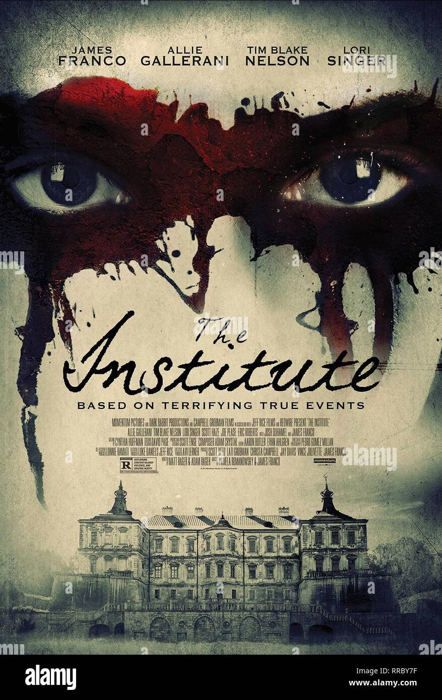 THE INSTITUTE, MOVIE POSTER, 2017 - Stock Image