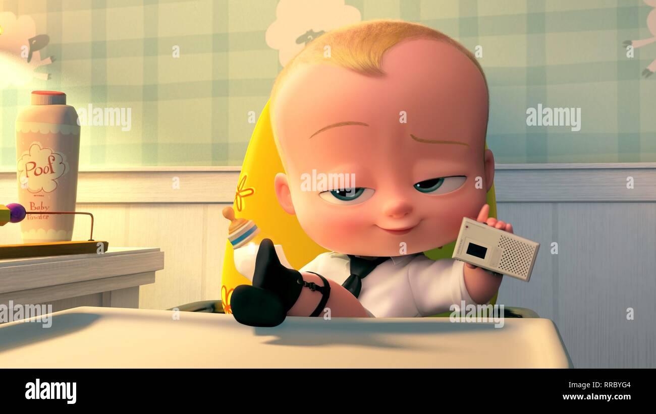 THE BOSS BABY, BABY, 2017 - Stock Image