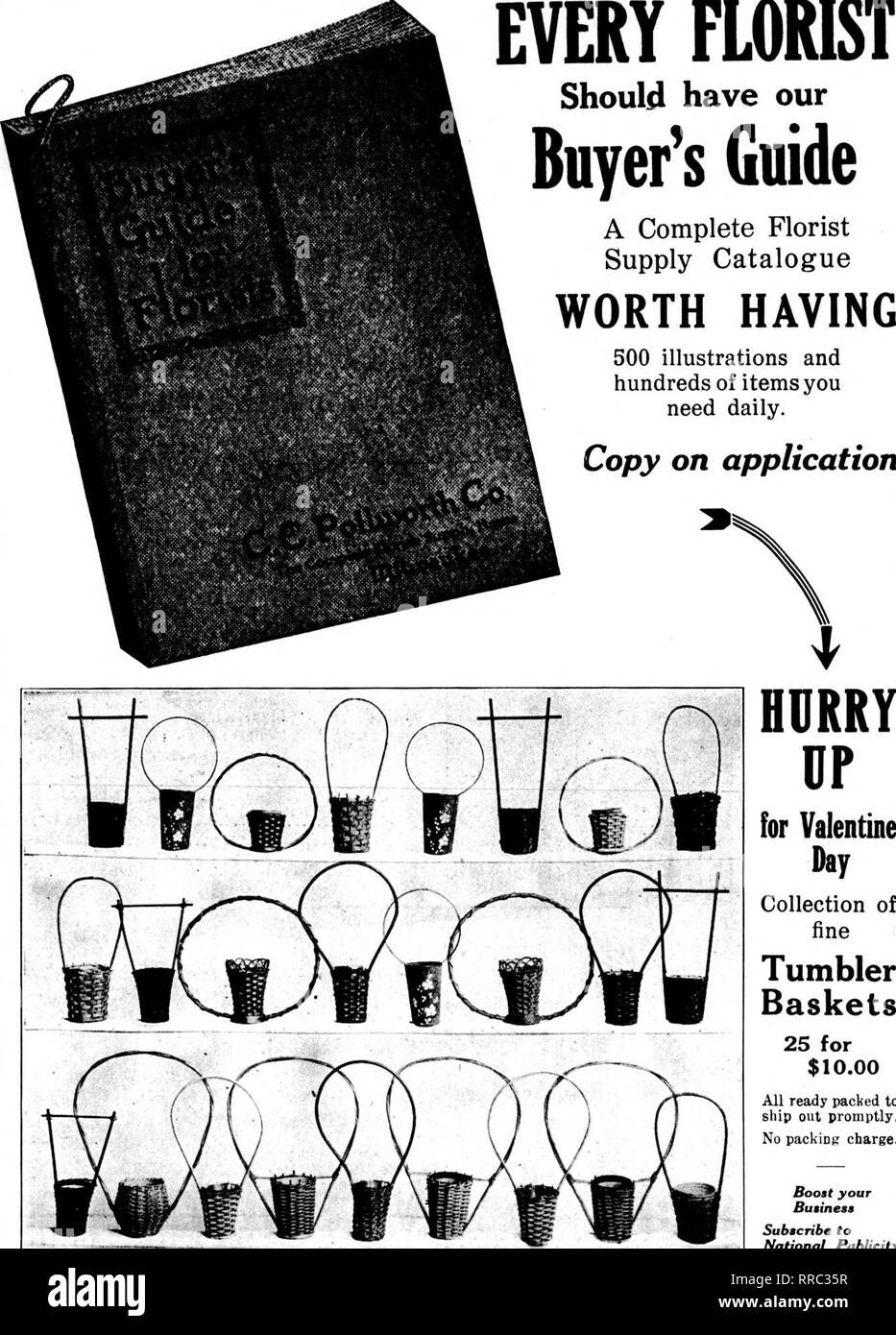 Florists Review Microform Floriculture 1 Pebruaky 2 1922 The