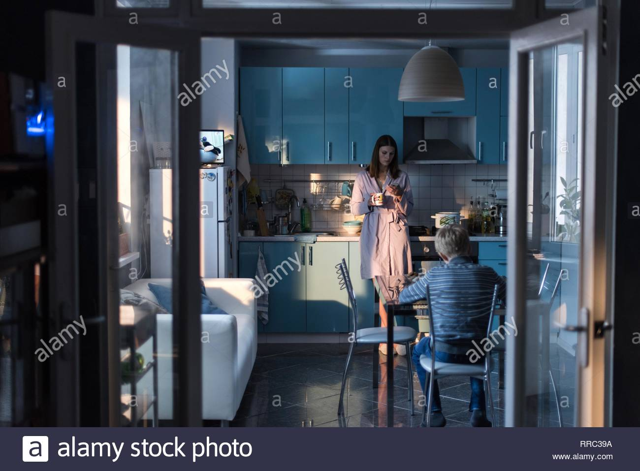 MARYANA SPIVAK & MATVEY NOVIKOV  Character(s): Zhenya, Alyosha  Film 'LOVELESS; NELYUBOV' (2017)  Directed By ANDREY ZVYAGINTSEV  18 May 2017  SAT77904  Allstar Picture Library/ALTITUDE FILM DISTRIBUTION  **WARNING** This Photograph is for editorial use only and is the copyright of ALTITUDE FILM DISTRIBUTION  and/or the Photographer assigned by the Film or Production Company & can only be reproduced by publications in conjunction with the promotion of the above Film. A Mandatory Credit To ALTITUDE FILM DISTRIBUTION is required. The Photographer should also be credited when known. No commercial - Stock Image