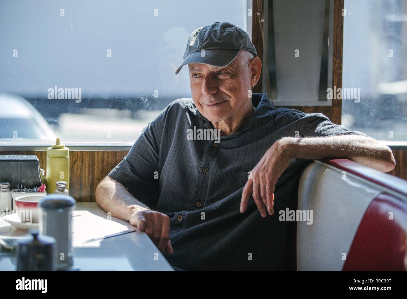 GOING IN STYLE, ALAN ARKIN, 2017 - Stock Image
