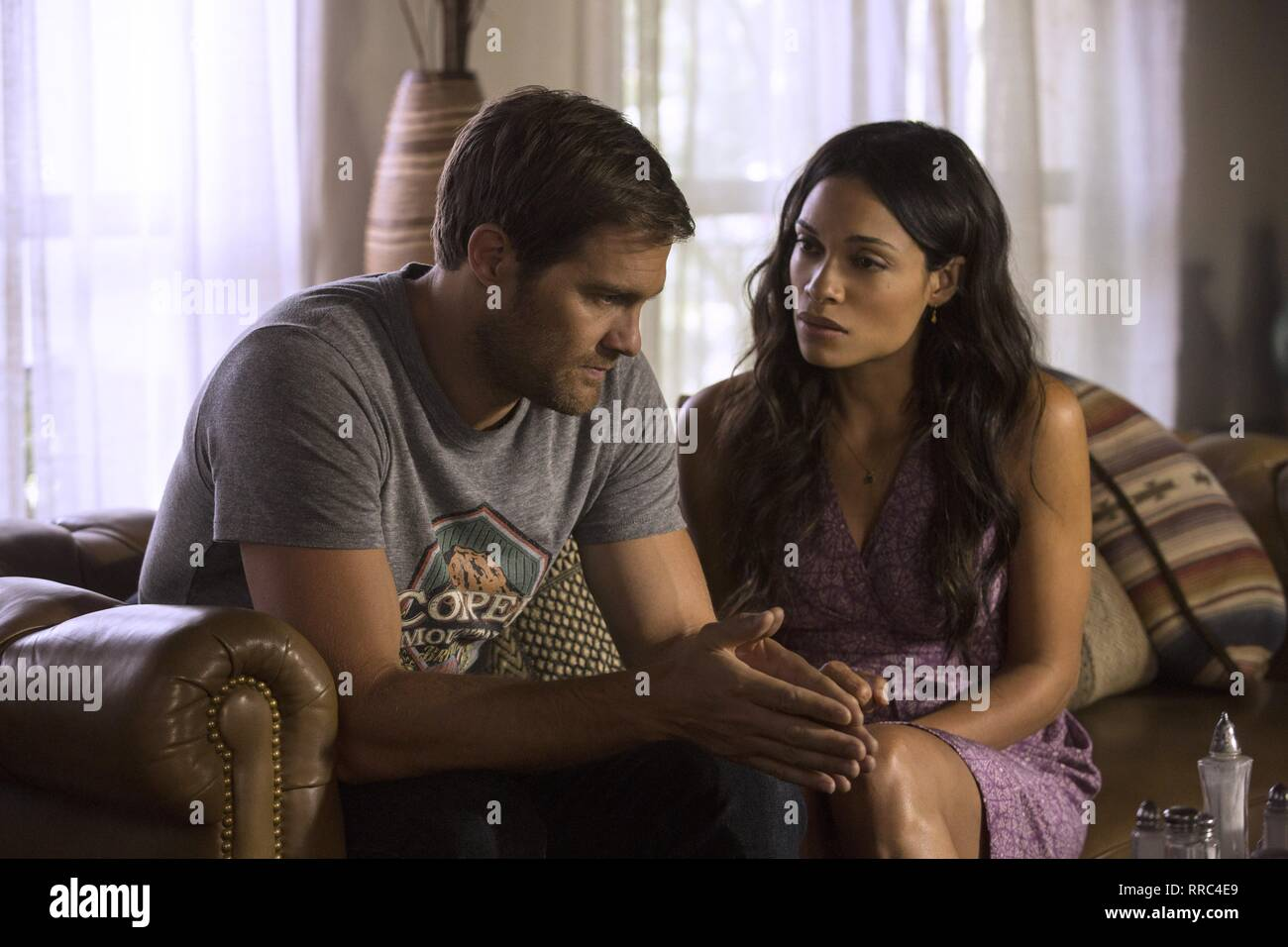 UNFORGETTABLE, GEOFF STULTS , ROSARIO DAWSON, 2017 - Stock Image