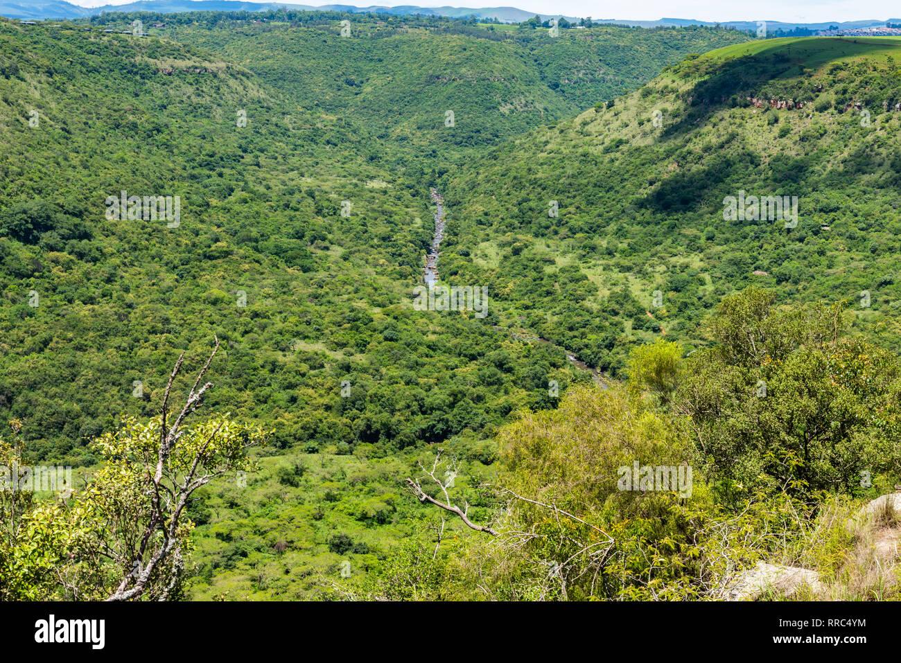 The Umgeni River Valley, Kwazulu Natal, South Africa. Stock Photo