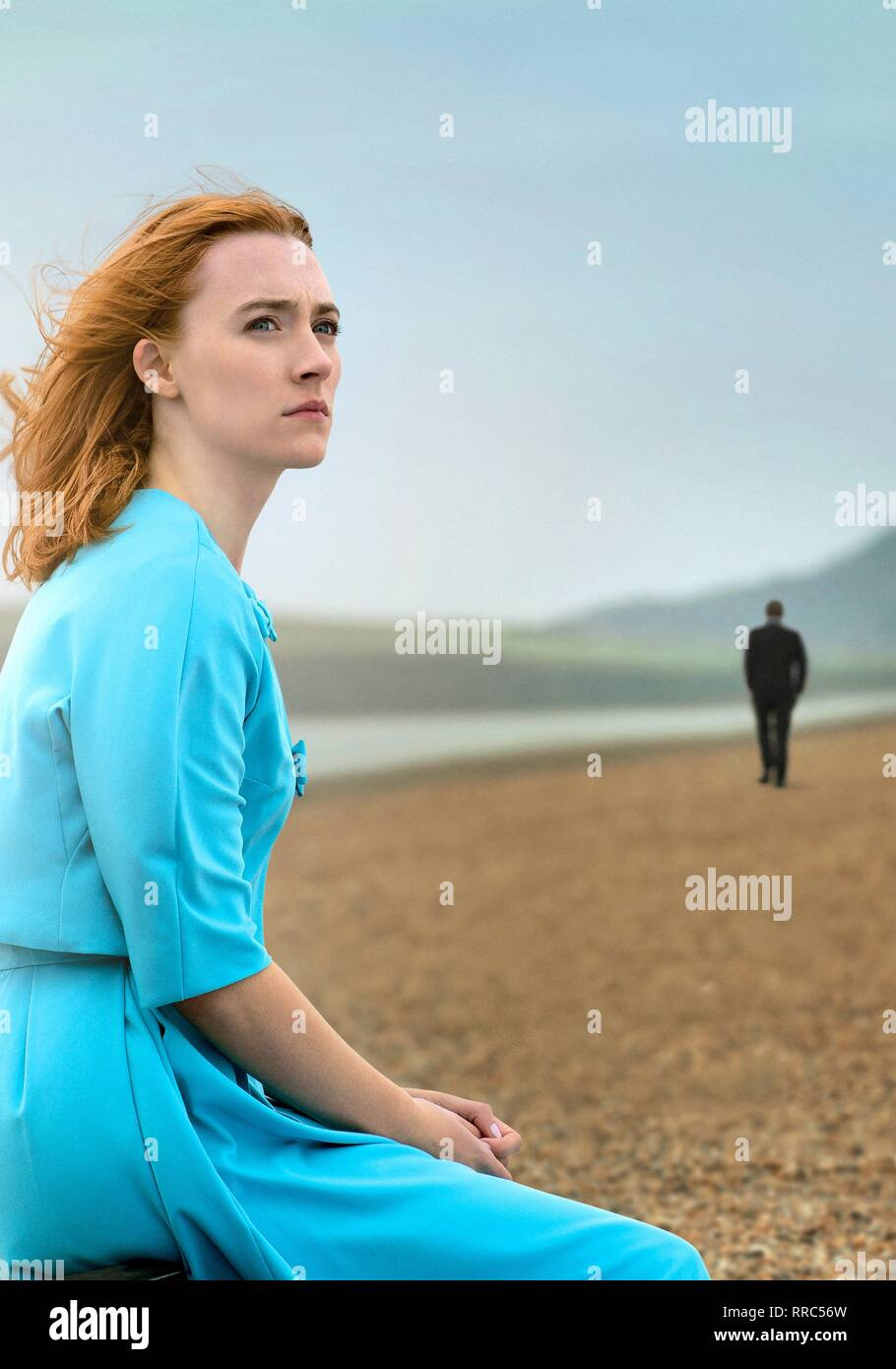 ON CHESIL BEACH, SAOIRSE RONAN, 2017 - Stock Image