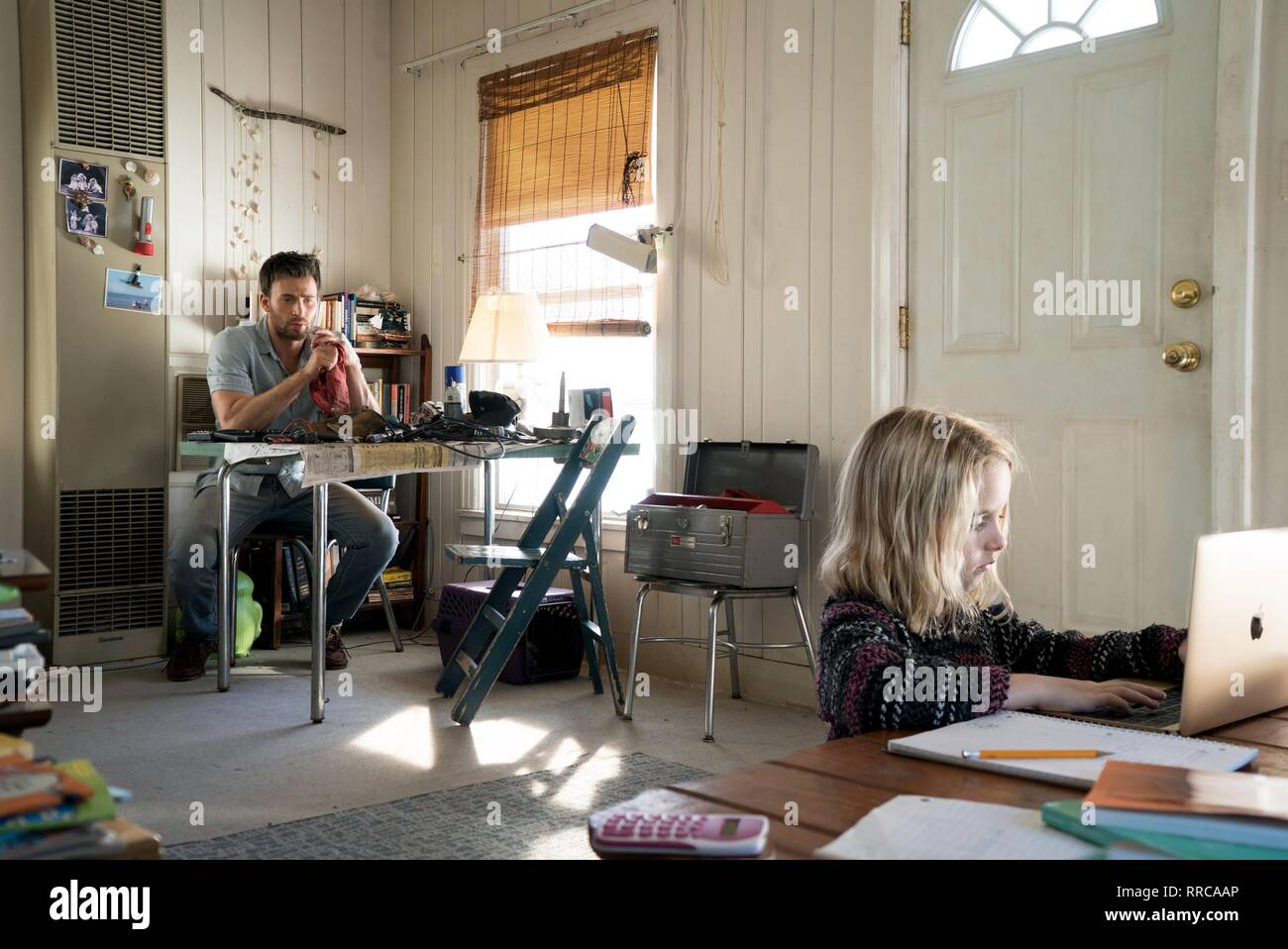 GIFTED, CHRIS EVANS , MCKENNA GRACE, 2017 - Stock Image