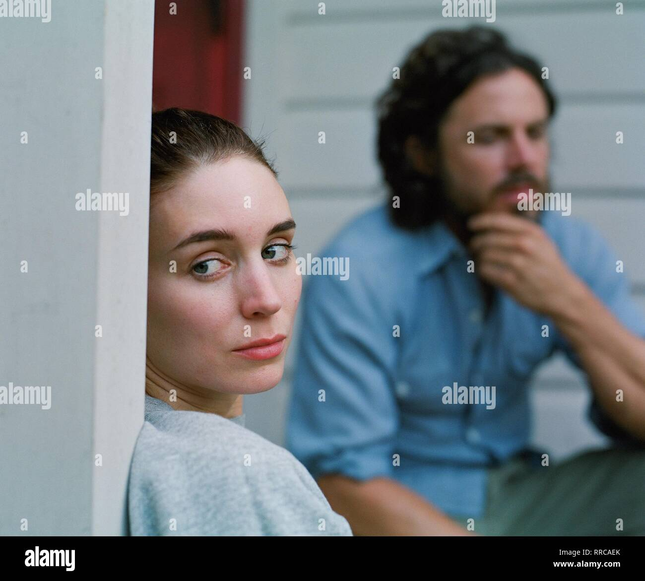 A GHOST STORY, ROONEY MARA , CASEY AFFLECK, 2017 - Stock Image