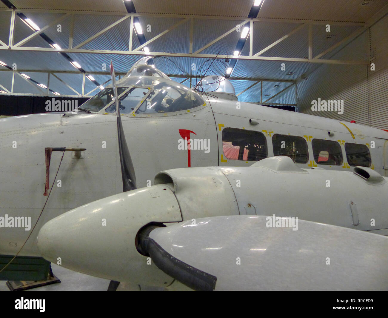 Omaka Aviation Heritage Centre. The Omaka Aviation Heritage Centre is an aviation museum located at the Omaka Air Field, 5 km from the centre of Blenh - Stock Image