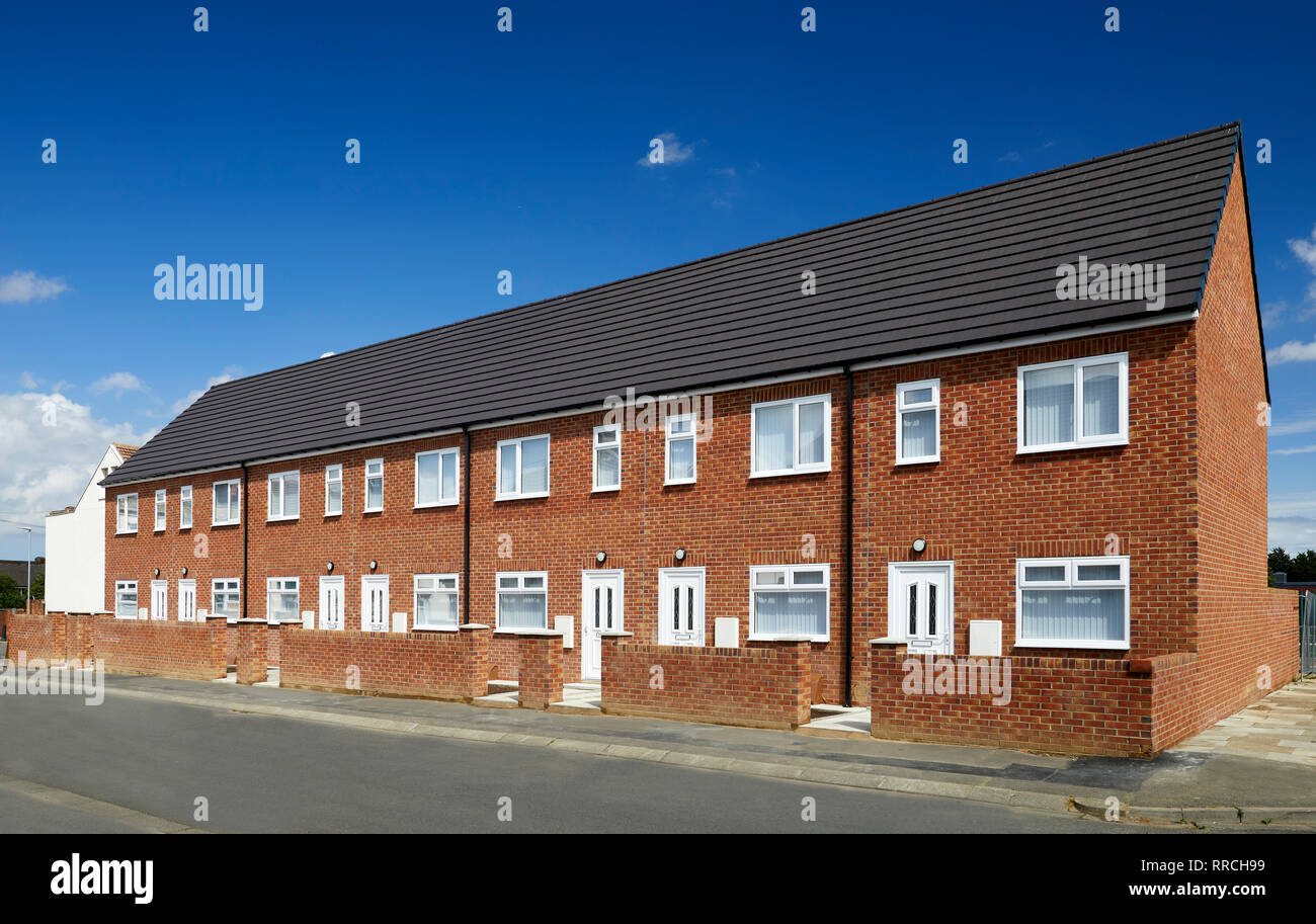 New Build Houses - Stock Image