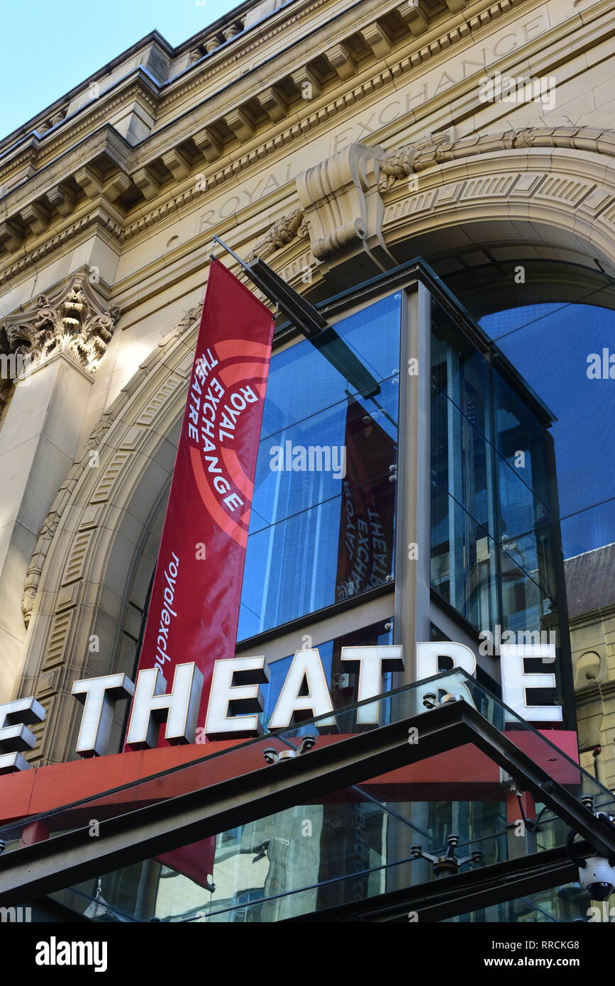 Royal Exchange Theatre, Manchester Stock Photo