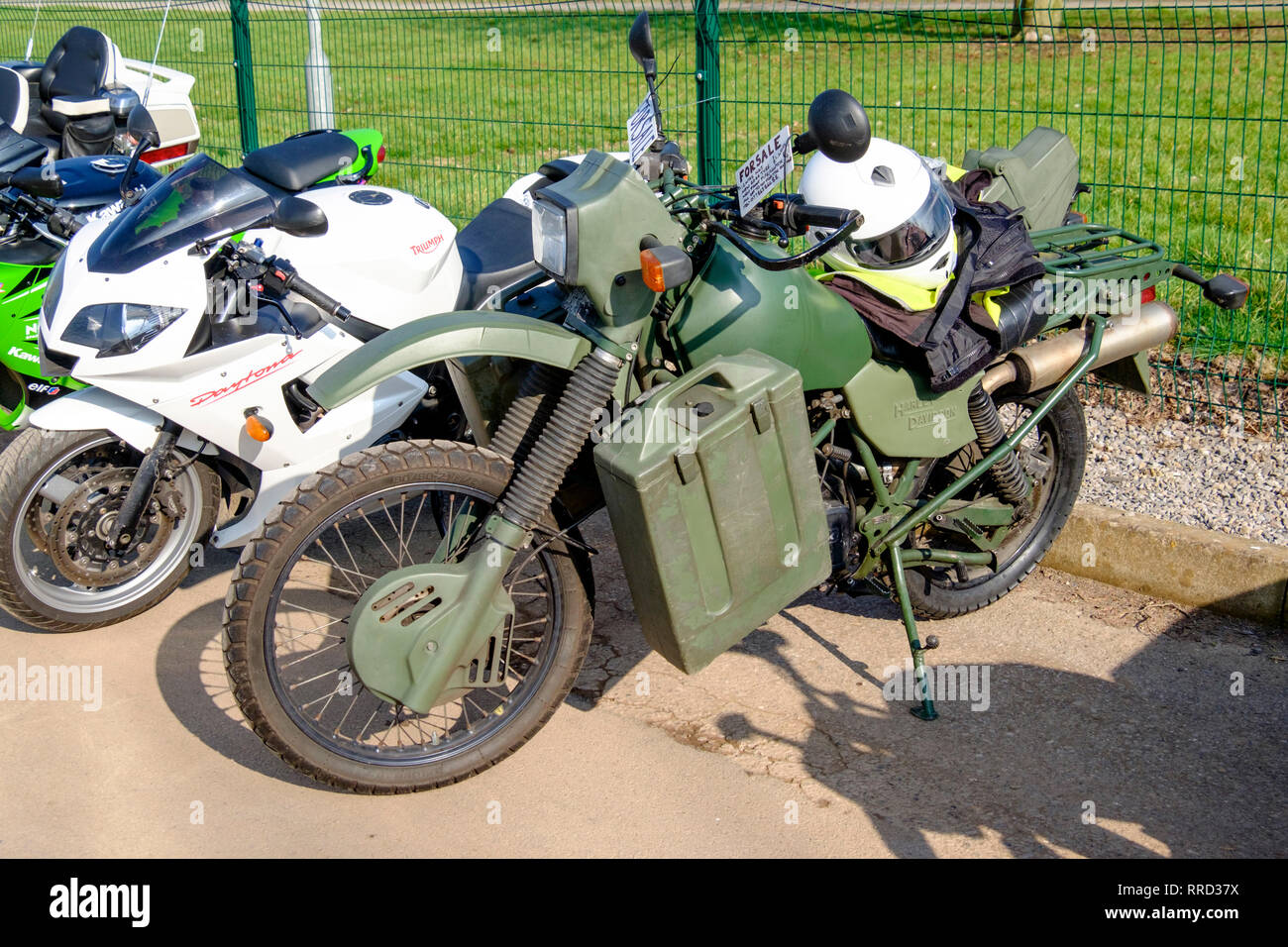 Army Bike High Resolution Stock Photography And Images Alamy