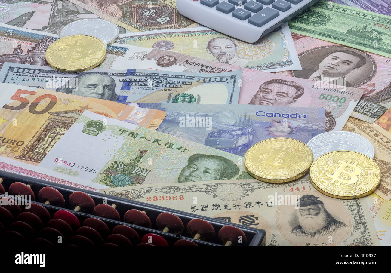 Foreign Curreny (Forex) Investing - Stock Image