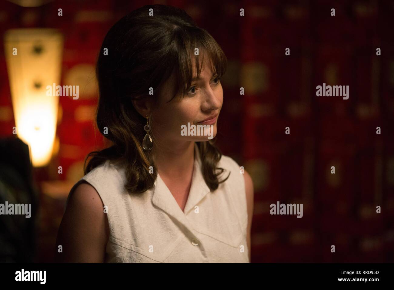 THE SENSE OF AN ENDING, EMILY MORTIMER, 2017 - Stock Image