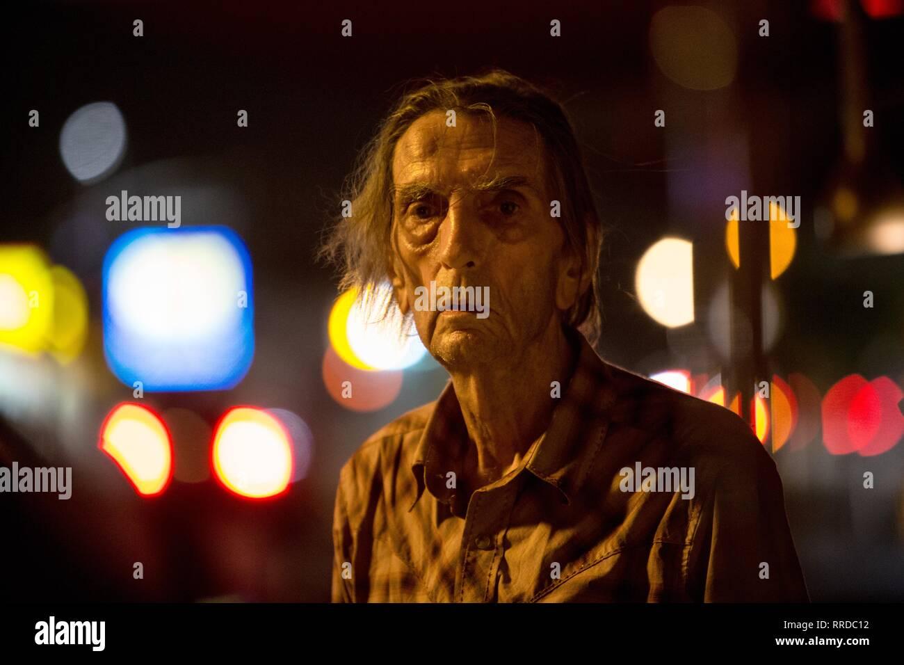 LUCKY, HARRY DEAN STANTON, 2017 - Stock Image