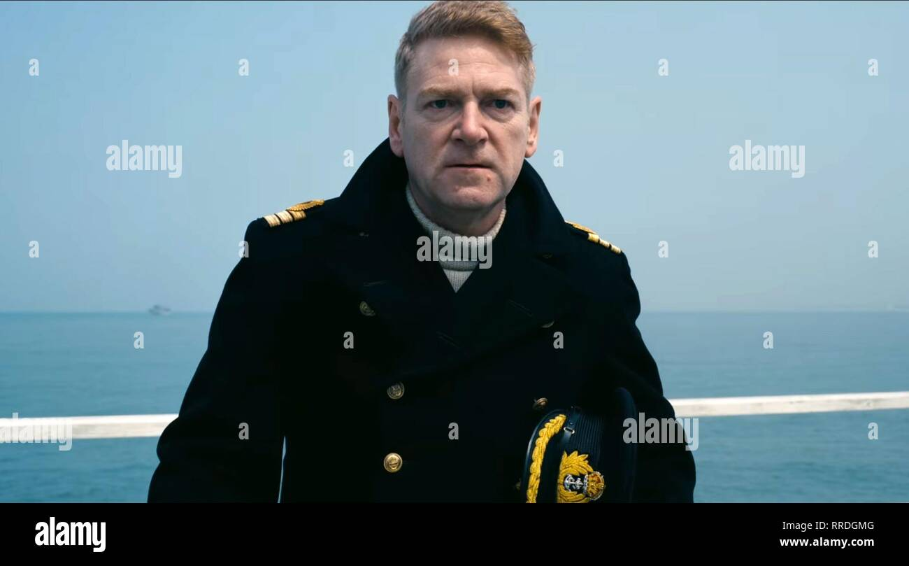 DUNKIRK, KENNETH BRANAGH, 2017 - Stock Image