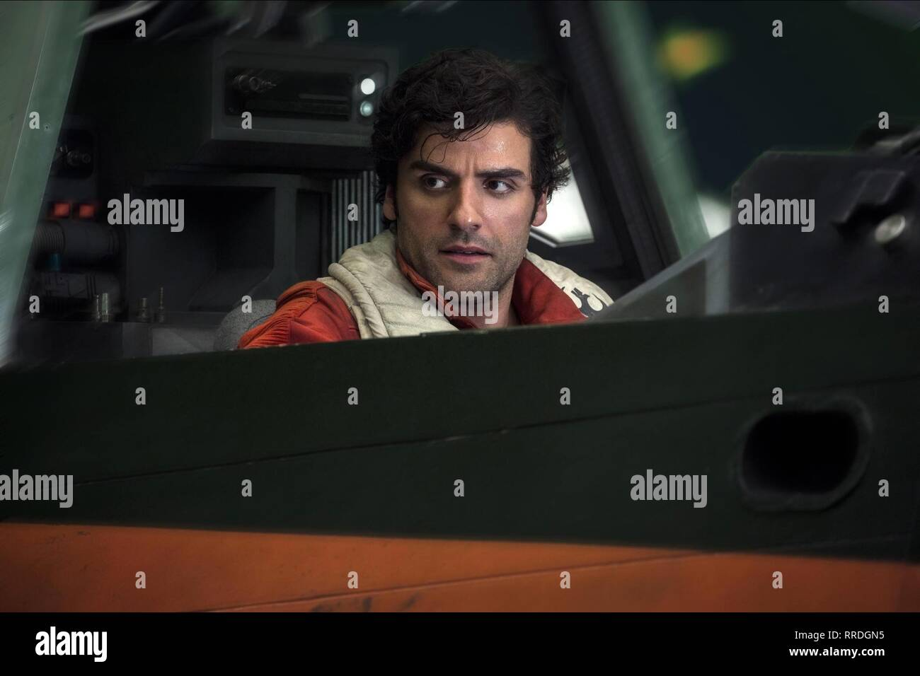 STAR WARS: THE LAST JEDI, OSCAR ISAAC, 2017 - Stock Image