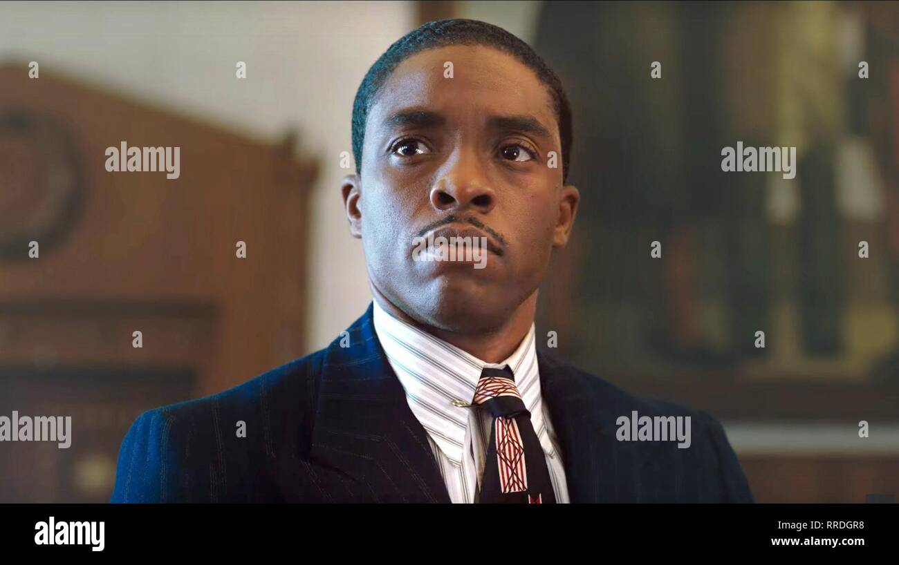 MARSHALL, CHADWICK BOSEMAN, 2017 Stock Photo
