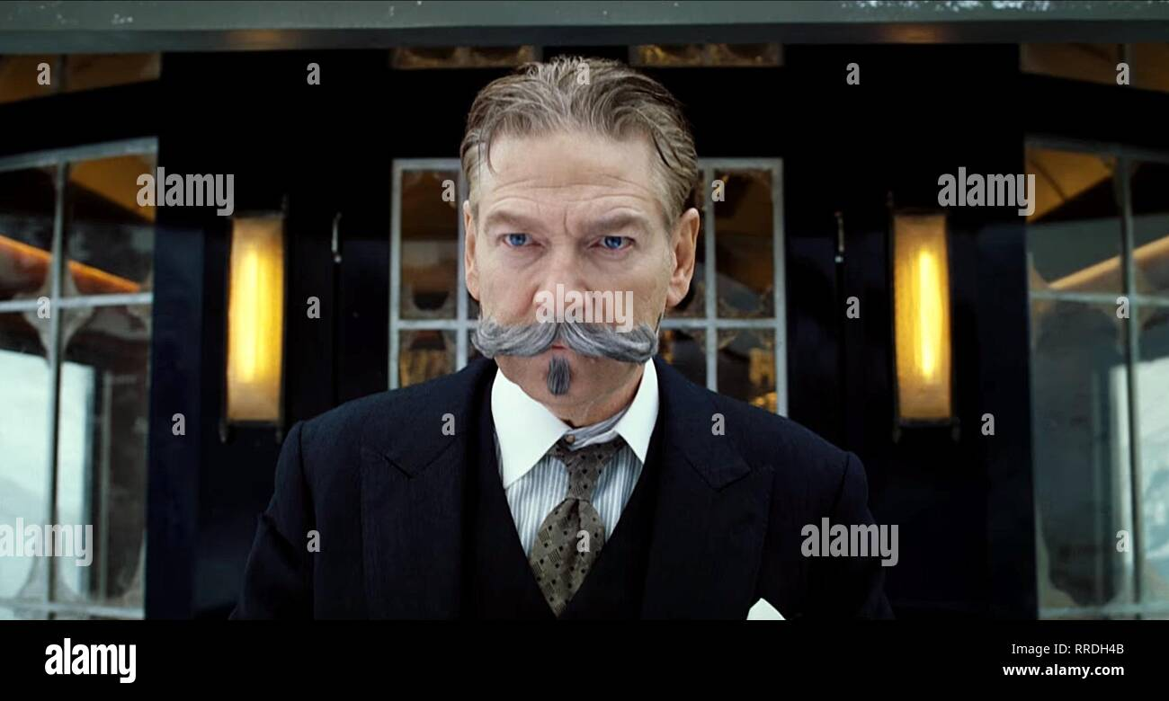 MURDER ON THE ORIENT EXPRESS, KENNETH BRANAGH, 2017 - Stock Image