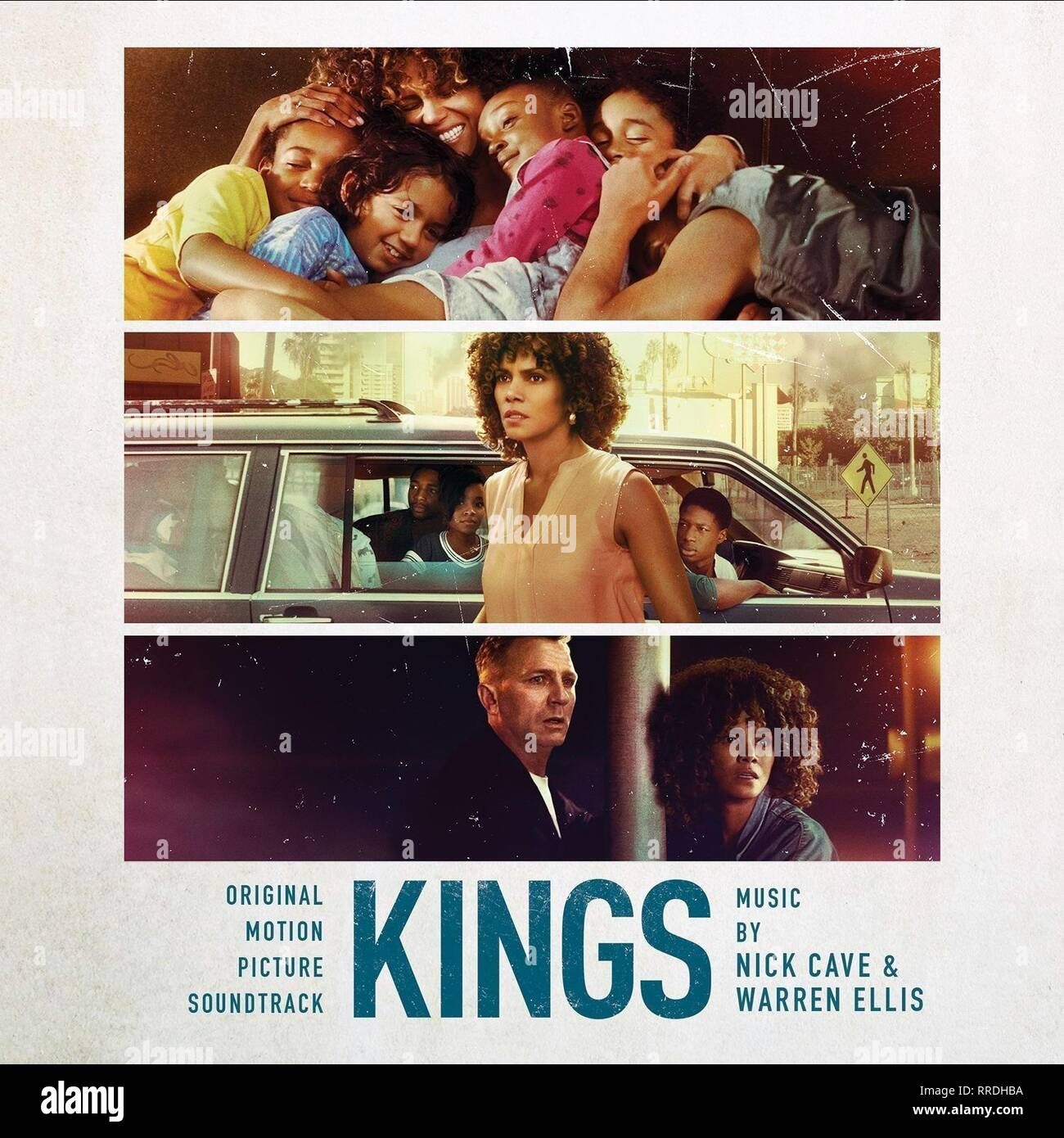 KINGS, MOVIE POSTER, 2017 - Stock Image