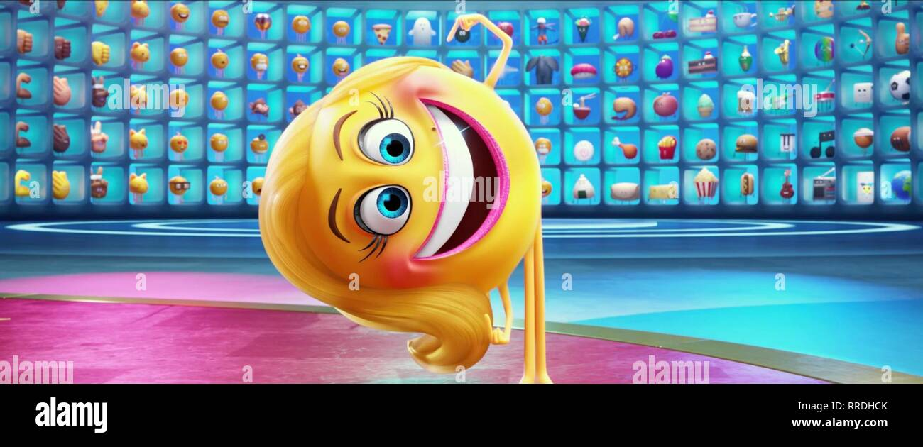 The Emoji Movie Smiler 2017 Stock Photo Alamy