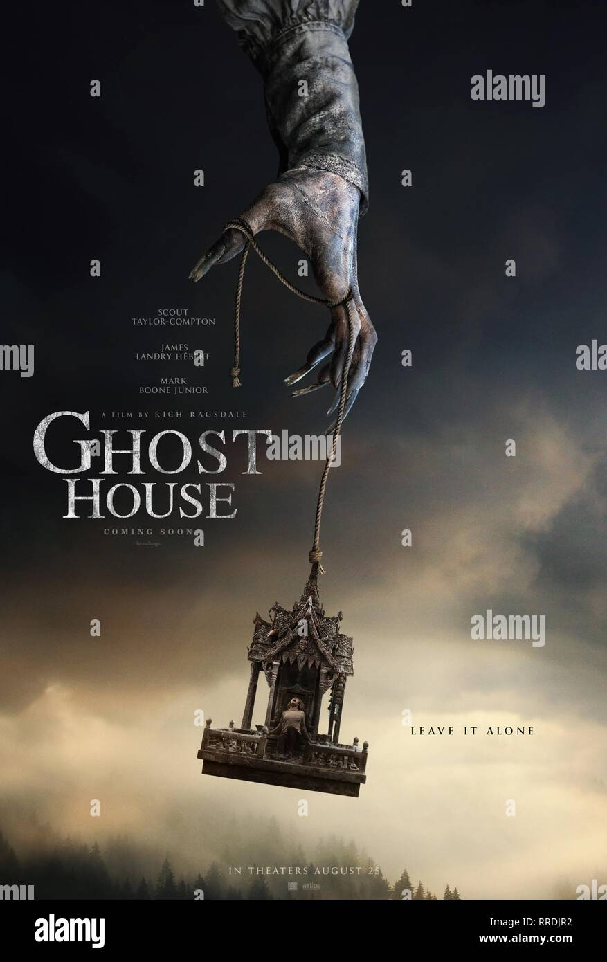 GHOST HOUSE, MOVIE POSTER, 2017 - Stock Image
