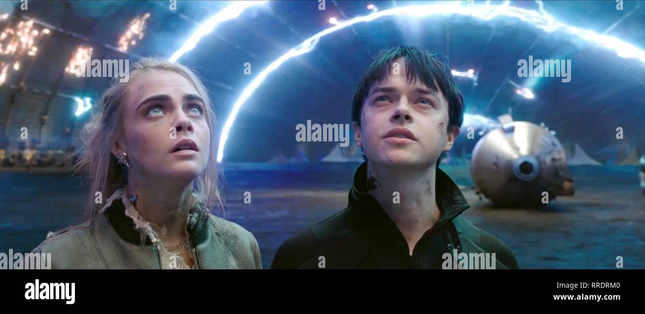 Valerian And The City Of A Thousand Planets Cara Delevingne Dane Dehaan 2017 Stock Photo Alamy