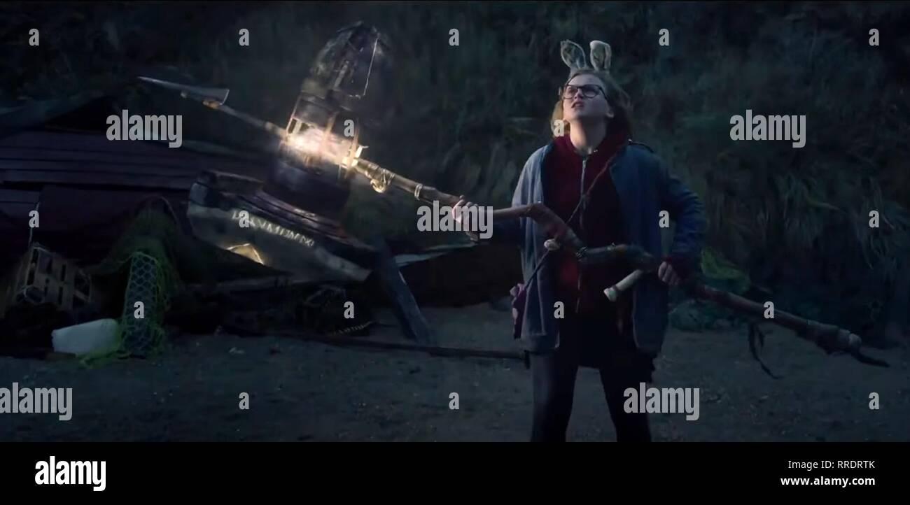 I KILL GIANTS, MADISON WOLFE, 2017 - Stock Image