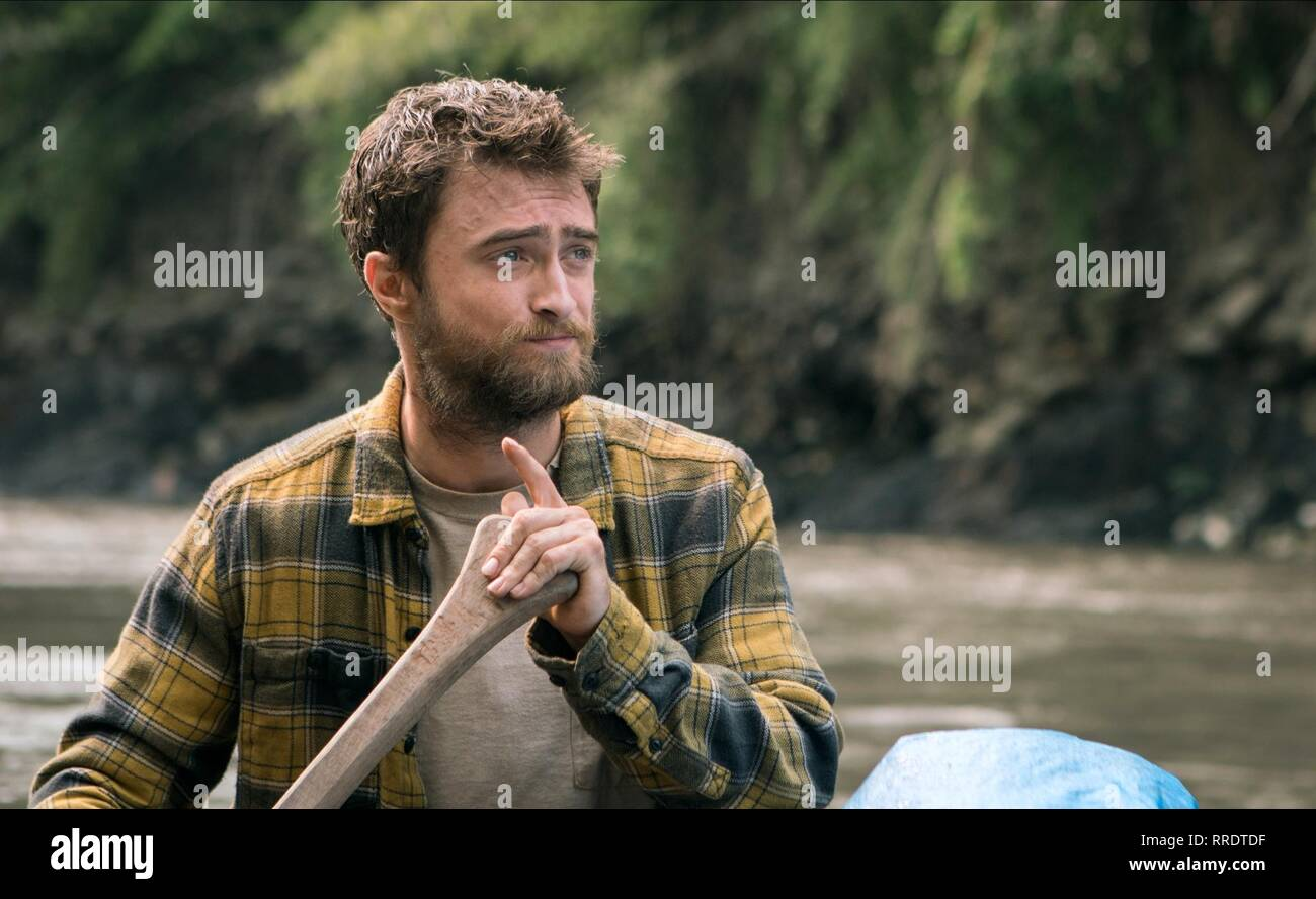 JUNGLE, DANIEL RADCLIFFE, 2017 Stock Photo