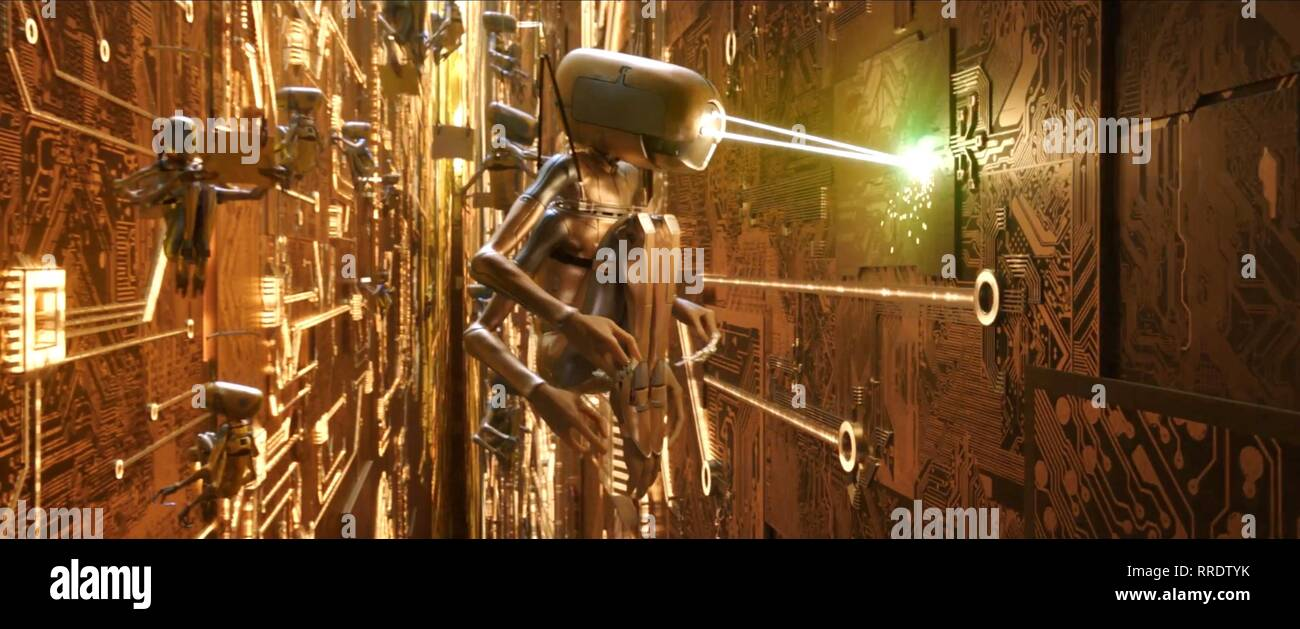 VALERIAN AND THE CITY OF A THOUSAND PLANETS, ROBOT, 2017 - Stock Image