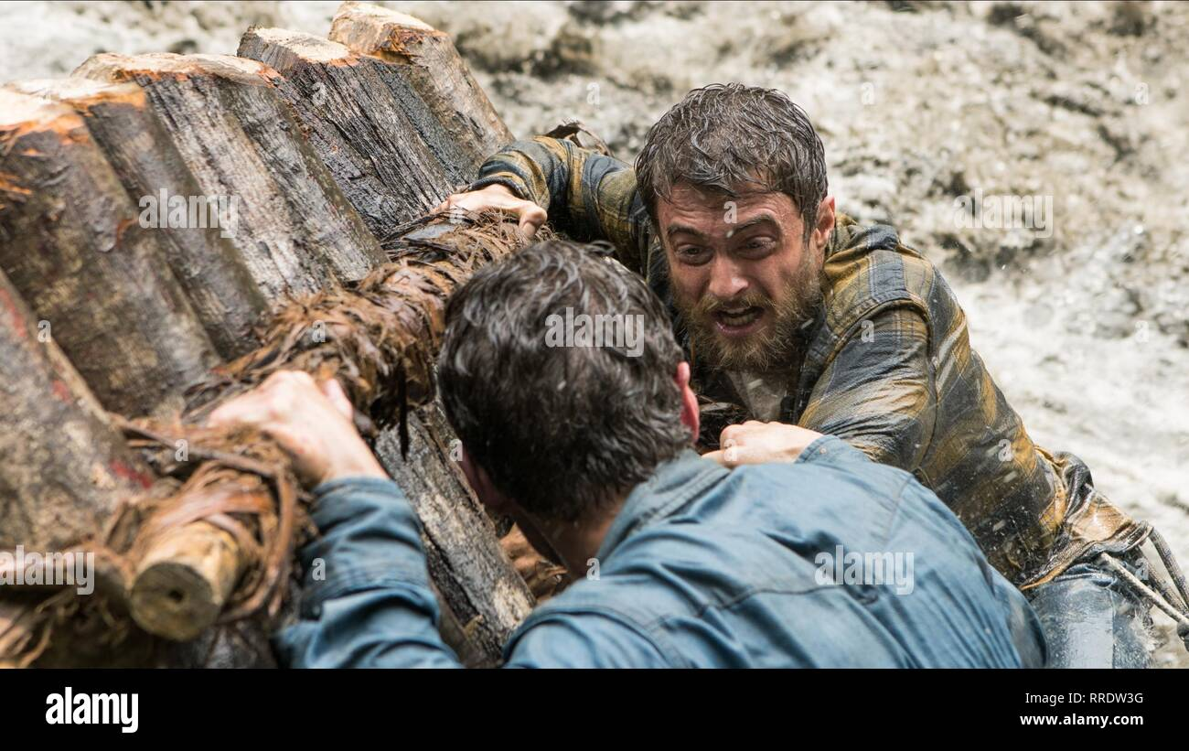 JUNGLE, ALEX RUSSELL , DANIEL RADCLIFFE, 2017 - Stock Image